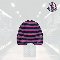 MONCLER Unisex Street Style Collaboration Knit Hats