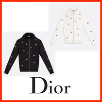 Christian Dior Unisex Street Style Long Sleeves Other Animal Patterns