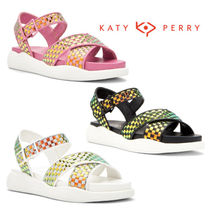 Katy Perry Other Check Patterns Open Toe Casual Style Sandals