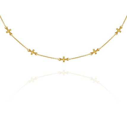 Cross Handmade 18K Gold Necklaces & Pendants