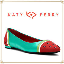 Katy Perry Tropical Patterns Casual Style Flats