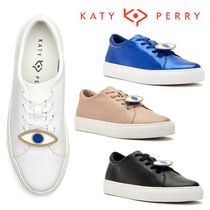 Katy Perry Lace-up Casual Style Plain Low-Top Sneakers