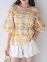 Other Check Patterns Casual Style Blended Fabrics Medium