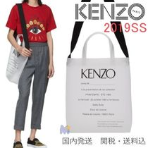 KENZO Unisex A4 2WAY Totes