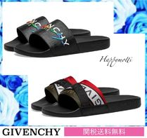 GIVENCHY Unisex Street Style Collaboration Bi-color Shower Shoes