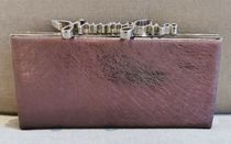 Jimmy Choo 2WAY Chain Plain Leather Party Style Party Bags