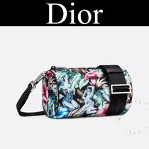 Christian Dior Tropical Patterns Nylon Blended Fabrics Street Style