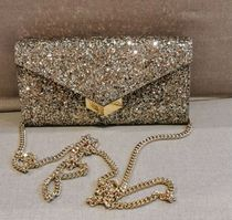 Jimmy Choo 2WAY Chain Plain Party Style Party Bags