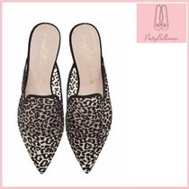 Pretty Ballerinas Leopard Patterns Casual Style Sandals Sandal