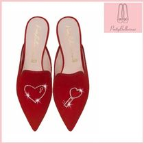 Pretty Ballerinas Heart Elegant Style Sandals Sandal