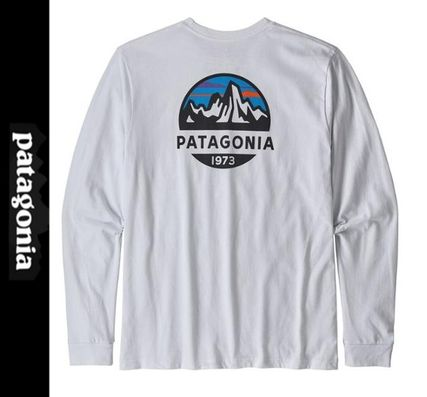 Patagonia Long Sleeve Crew Neck Long Sleeves Long Sleeve T-shirt Logo Outdoor