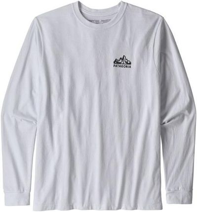 Patagonia Long Sleeve Crew Neck Long Sleeves Long Sleeve T-shirt Logo Outdoor 2