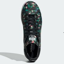 adidas STAN SMITH Flower Patterns Unisex Low-Top Sneakers