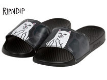RIPNDIP Camouflage Street Style Shower Shoes Shower Sandals