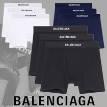 BALENCIAGA Plain Cotton Boxer Briefs