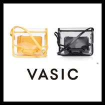 VASIC Casual Style Bag in Bag Crystal Clear Bags PVC Clothing
