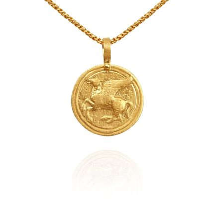 Casual Style Coin Animal Handmade 18K Gold