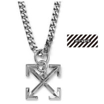 Off-White Chain Metal Necklaces & Chokers