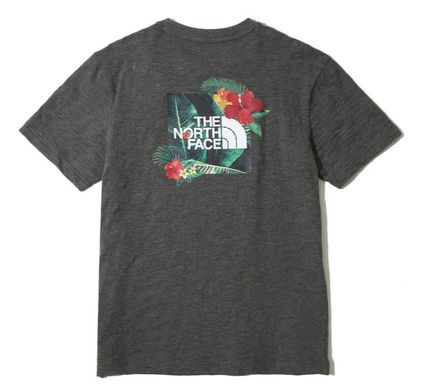 THE NORTH FACE More T-Shirts Unisex Street Style Short Sleeves T-Shirts 9