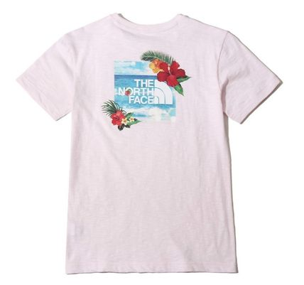 THE NORTH FACE More T-Shirts Unisex Street Style Short Sleeves T-Shirts 15