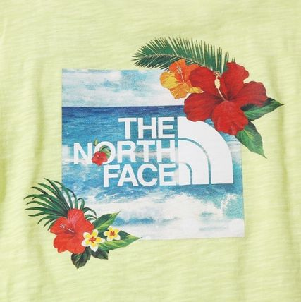 THE NORTH FACE More T-Shirts Unisex Street Style Short Sleeves T-Shirts 16
