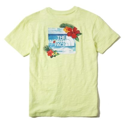 THE NORTH FACE More T-Shirts Unisex Street Style Short Sleeves T-Shirts 18