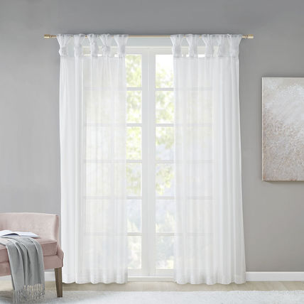 MADISON PARK Plain Co-ord Curtains