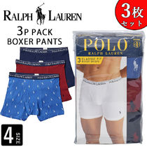 Ralph Lauren Street Style Plain Cotton Boxer Briefs