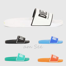 DIESEL Street Style Plain Shower Shoes Shower Sandals