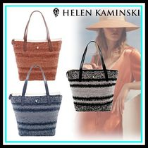 HELEN KAMINSKI Casual Style Blended Fabrics Home Party Ideas Totes