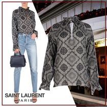 Saint Laurent Long Sleeves Shirts & Blouses