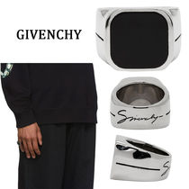 GIVENCHY Street Style Plain Rings