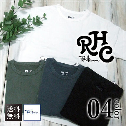Ron Herman Crew Neck Crew Neck Plain Short Sleeves Crew Neck T-Shirts