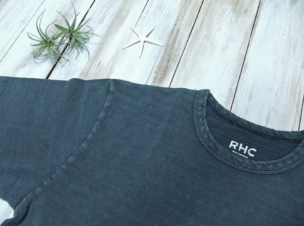 Ron Herman Crew Neck Crew Neck Plain Short Sleeves Crew Neck T-Shirts 5