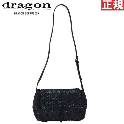 Plain Leather Handmade Straw Bags
