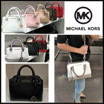 Michael Kors Saffiano 2WAY Plain Handbags