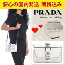 PRADA ELEKTRA 2WAY Leather Shoulder Bags