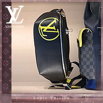 Louis Vuitton BUMBAG Street Style 3WAY Leather Hip Packs