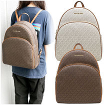 Michael Kors Casual Style A4 Backpacks