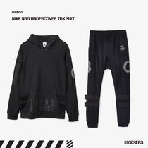 Nike Unisex Street Style Collaboration Top-bottom sets