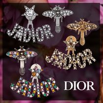 Christian Dior JADIOR Star Casual Style Unisex Street Style Earrings & Piercings