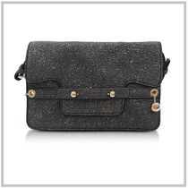 RED VALENTINO Casual Style 2WAY Chain Leather Party Style Shoulder Bags
