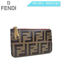 FENDI Leather Coin Purses