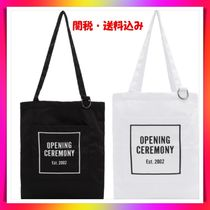 OPENING CEREMONY Casual Style Unisex Street Style A4 Handbags