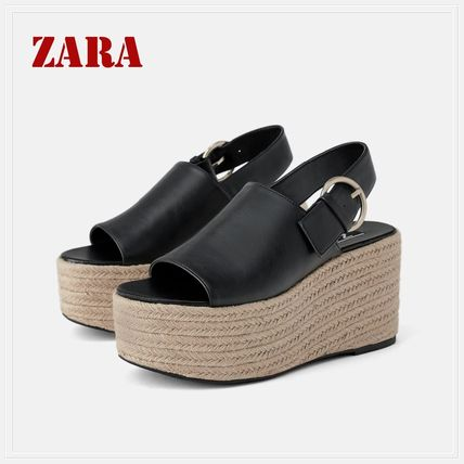 Casual Style Flat Sandals