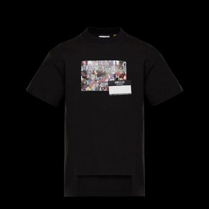 MONCLER More T-Shirts Cotton Short Sleeves Logos on the Sleeves T-Shirts 2