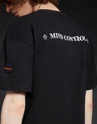 MONCLER More T-Shirts Cotton Short Sleeves Logos on the Sleeves T-Shirts 6