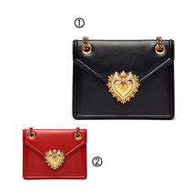 Dolce & Gabbana Street Style Plain Leather Shoulder Bags