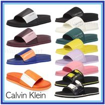 Calvin Klein Unisex Faux Fur Street Style Plain Shower Shoes