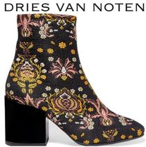Dries Van Noten Glen Patterns Other Check Patterns Casual Style Chunky Heels